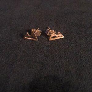 Jewelry - Gold Mountain Earrings 🏔